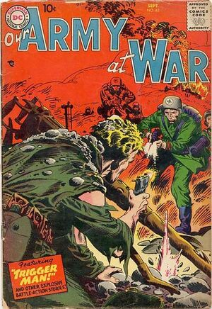 Cover for Our Army at War #62
