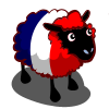 French Flag Sheep-icon