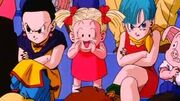 Marron Cheering on Android 18