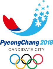 Pyeongchang 2018 Olympic Bid logo
