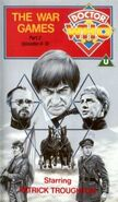 The War Games Part 2 VHS UK cover
