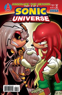 Sonic Universe issue - 11