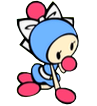 Cyan Bomberman