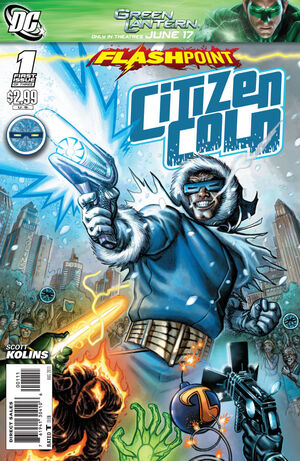 Cover for Flashpoint: Citizen Cold #1