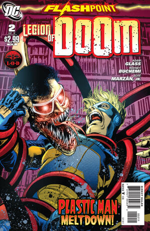 Cover for Flashpoint: Legion of Doom #2