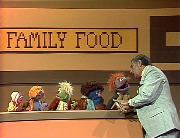 Family Food Richard Dawson Sesame Street