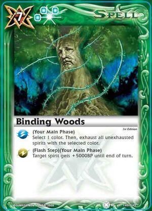 BS01 -battle spirits set 1 -spirits. 300px-Bindingwoods2