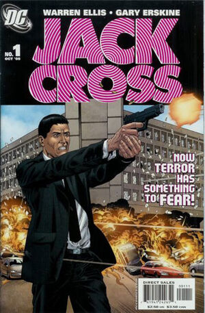 Cover for Jack Cross #1