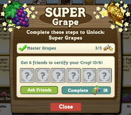 Super Grape Certify