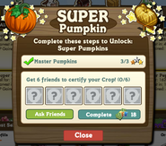 Super Pumpkin Certify