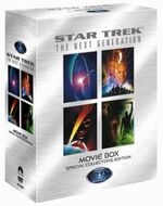 Star Trek - Next Generation Movie Box Special Collectors Edition