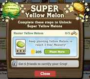 Keep Planting Yellow Watermelon