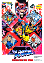 X-Men Children of the Atom (arcade game) Flyer