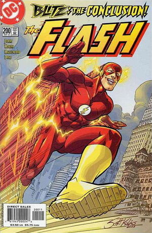 Cover for Flash #200