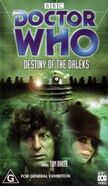 Bbc dw destiny of the daleks reissue video