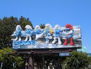 Smurfsmoviebillboard