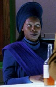 Guinan hologram
