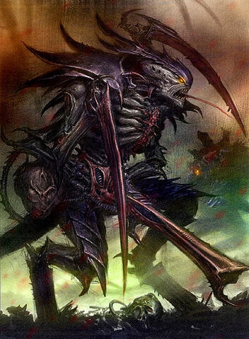 Tyranid Warrior - from Warhammer 40k Wiki