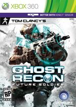 Tom Clancy&#39;s Ghost Recon Future Soldier Cover Artwork