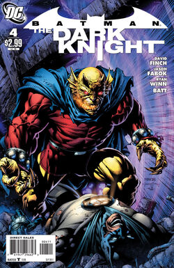 Batman The Dark Knight-4 Cover-1
