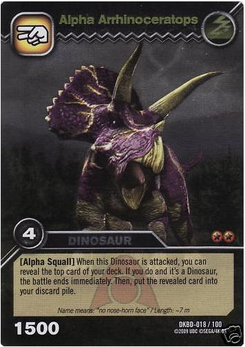 Arrhinoceratops/Alpha - Dinosaur King  Arrhinoceratops...