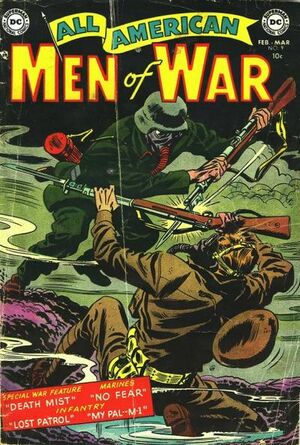 Cover for All-American Men of War #9