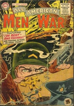 Cover for All-American Men of War #25