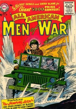 Cover for All-American Men of War #38