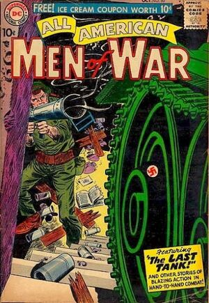 Cover for All-American Men of War #50