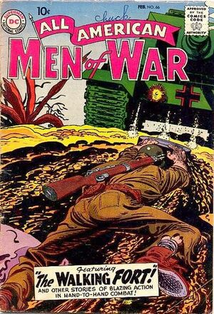 Cover for All-American Men of War #66