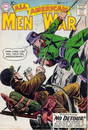 Cover for All-American Men of War #73