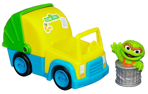 Oscar The Grouch S Garbage Truck With Oscar Figure 9 99