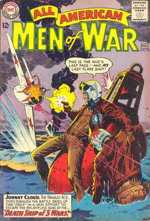 Cover for All-American Men of War #101