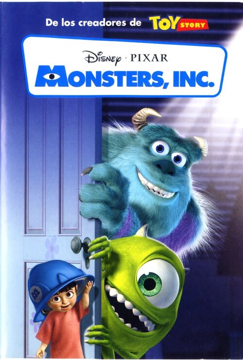 Monsters inc movie poster