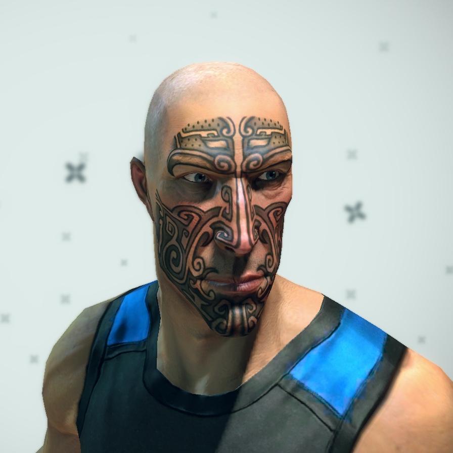 Image - Mayan Face Tattoo.jpg - Brink Wiki