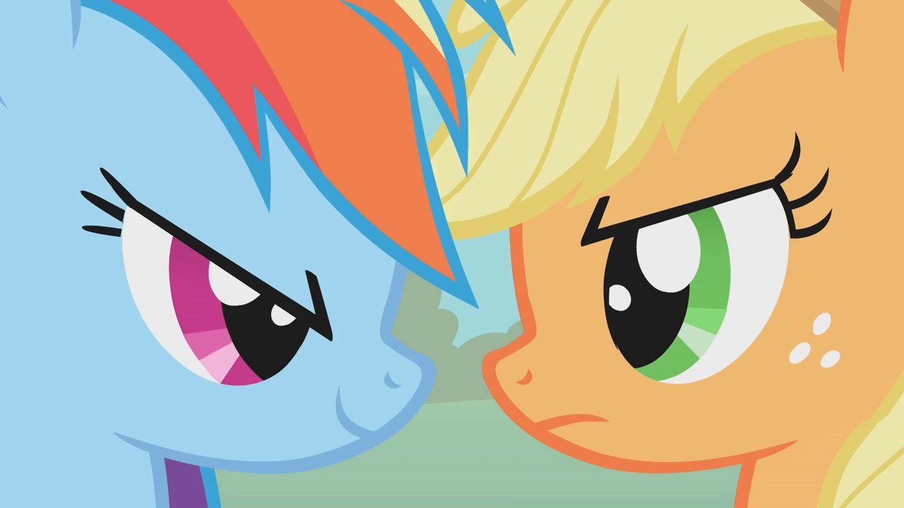 Applejack - My Little Pony Friendship is Magic WikiMlp Human Applejack And Rainbow Dash