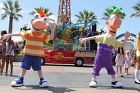PnF at Disney California Adventure