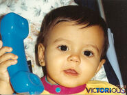 Aww little Vic