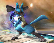 Lucario-unlocked