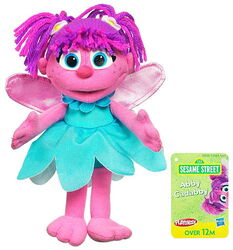 Sesame street mini plush abby 2011