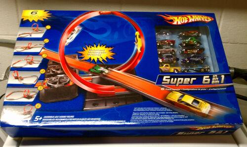 Super 6 In 1 Track Set Hot Wheels Wiki