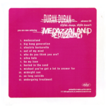 Medazzaland usa promo duran duran advance cd album