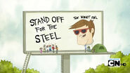 Standoffforthesteel