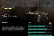 COD ELITE AK-74u Description1