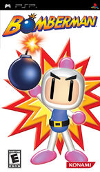 Bomberman PSP Front