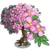 Pink Hanging Flower Tree-icon