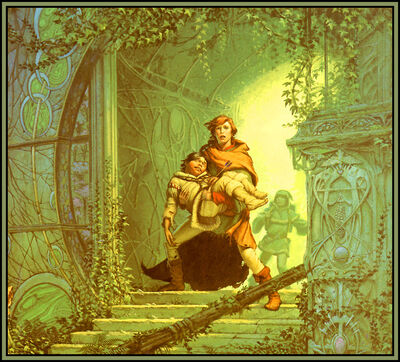 Michael whelan the dragonbone chair front
