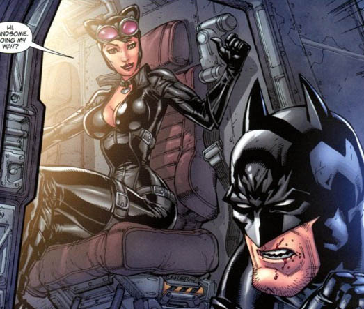 The Women Of Dc Comics Ink In Adam Withers S Dc Comics: Comic World: Arkham City Catwoman