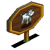 Chrome Cow Mastery Sign-icon