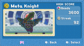 KEY Meta Knight level